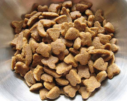 All kinds of pet food produced by pet food machine